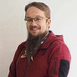 Kuvassa Joni Heikkinen