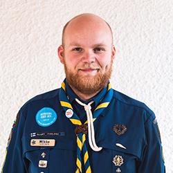 Kuvassa Mikko Laitinen